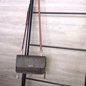 NWT-Crossbody/Zip Around Wallet Combo,Calvin Klein